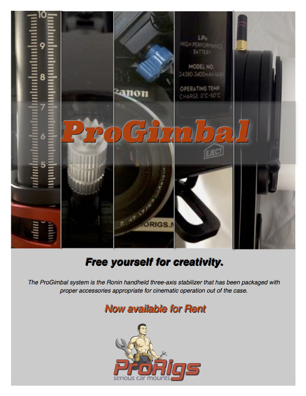 ProGimbal System now available for rent